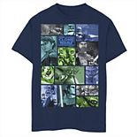 Boys 8-20 Star Wars: Clone Wars Group Shot Panels Graphic Tee