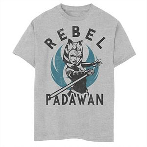 Boys 8-20 Star Wars: Clone Wars Ahsoka Rebel Padawan Portrait Graphic Tee