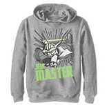 Boys 8-20 Star Wars: Clone Wars Yoda Jedi Master Action Pose Graphic Fleece Hoodie