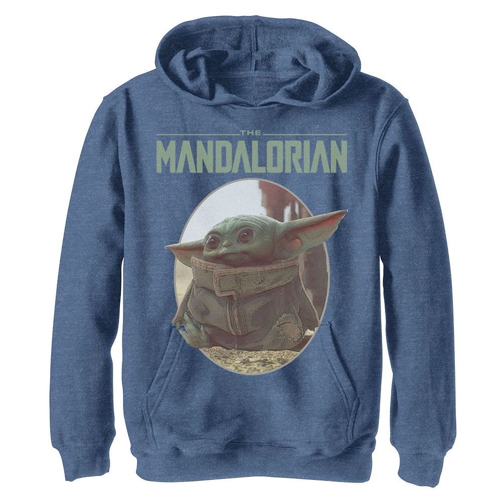 Boys 8-20 Star Wars The Mandalorian The Child Circle Portrait Graphic Hoodie