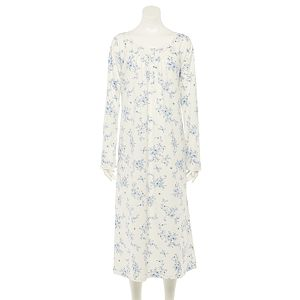 Petite Croft & Barrow® Lace Trim Nightgown