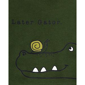 Baby Boy Carter's 3-Piece Crocodile Set