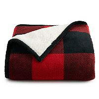 Cuddl Duds Sherpa Throw Deals