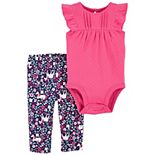 Baby Girl Carter's 2-Piece Floral Set