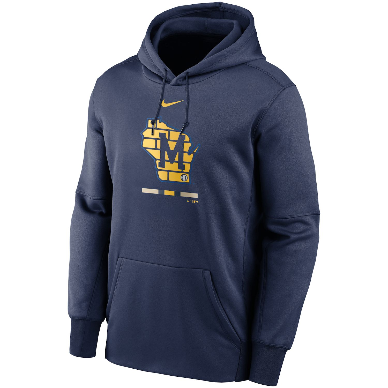 nike brewers hoodie