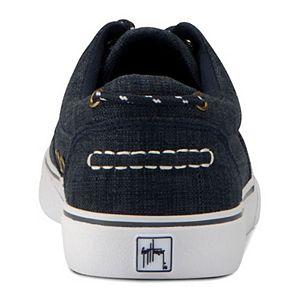 Guy Harvey Atlantic Linen Men's Oxford Sneakers