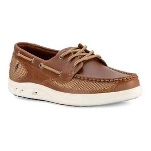 Guy Harvey Stingray Blue Ocean Men's Boat Shoes