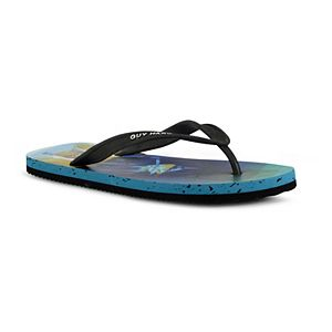 Guy Harvey Cayman Marlin Prism Men's Flip Flop Sandals