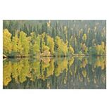 Fine Art Canvas Mirrored Reflections Canvas Wall Art