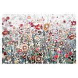 Fine Art Canvas Wild & Free Floral Canvas Wall Art