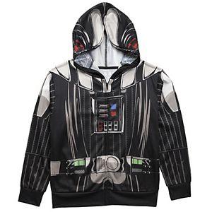 Boys 8-20 Star Wars Darth Vader Character Hoodie