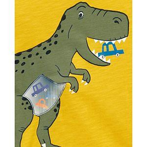 Baby Boy Carter's Dinosaur Action Long Sleeve Graphic Tee