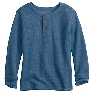 Toddler Boy Jumping Beans® Long Sleeve Thermal Henley