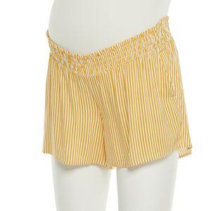 Maternity a:glow? Smocked Shorts