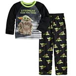 Boys 6-12 The Mandalorian The Child aka Baby Yoda 2-Piece Shirt & Pants Pajama Set