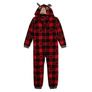 Boys 8-20 Cuddl Duds One-Piece Pajamas