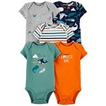 Baby Boy Carter's 5-pack Bodysuits