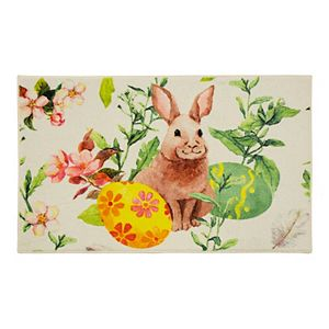 Mohawk Home Prismatic Easter Bunny Accent Rug
