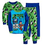 Boys 6-12 Minecraft Desert Temple Cotton Top & Bottoms Pajama Set