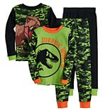 Boys 4-10 Jurassic World T-Rex Tops & Bottoms Pajama Set