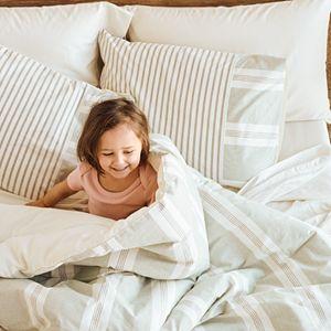 Sonoma Goods For Life® Hasting Sage Stripe Comforter Set & Shams