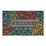 Mohawk® Home Doorscapes Stained Glass Floret Welcome Mat