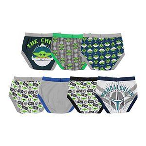 Disney Star Wars Mandalorian 7-Pack Brief Underwear