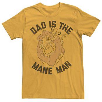 Lion King Juniors Vintage Sunset Logo V-Neck T-Shirt