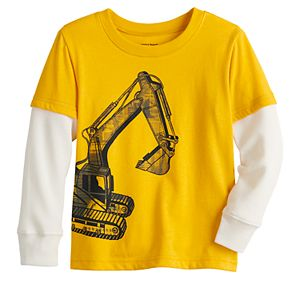 Toddler Boy Jumping Beans® Thermal Mock Layer Graphic Tee