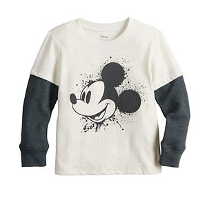 Disney's Mickey Mouse Toddler Boy Mock Layer Thermal Tee by Jumping Beans®