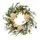 National Tree Company Spring Artificial Flower Wreath