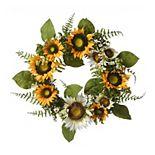 National Tree Company Artificial Sunflower Wreath