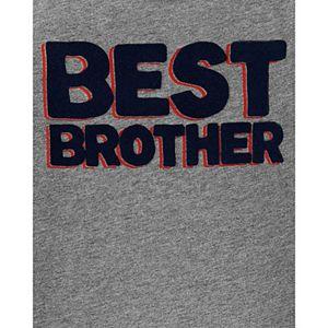 "Baby Boy Carter's ""Best Brother"" Jersey Tee"