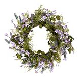 National Tree Company Artificial Lavender Wreath