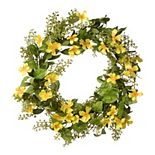 National Tree Company Artificial Cosmos Flowers Wreath