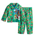 Toddler Boy Paw Patrol Dino Rescue Jungle 2 Piece Pajama Set