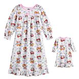 Toddler Girl Paw Patrol Dream Big Nightgown & Doll Gown