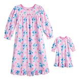 Toddler Girl Blues Clues Fun with Blue Nightgown & Doll Gown