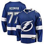 Youth Fanatics Branded Victor Hedman Blue Tampa Bay Lightning Home Premier Breakaway Player Jersey