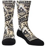 Youth Rock Em Socks Purdue Boilermakers Logo Sketch Crew Socks
