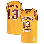 Men's Original Retro Brand James Harden Gold Arizona State Sun Devils Alumni Basketball Jersey