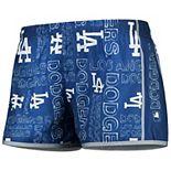 Women's Royal Los Angeles Dodgers Repeat Logo Running Shorts