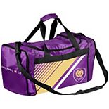 Orlando City SC Border Stripe Duffel Bag