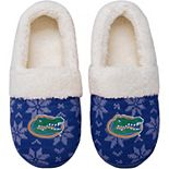 Women's Florida Gators Ugly Knit Moccasin Slippers