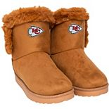 Women's Kansas City Chiefs Fur Boots