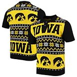 Men's Gold Iowa Hawkeyes College Ugly Knit Polo