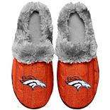 Women's Denver Broncos Cable Knit Slide Slippers