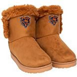 Women's Chicago Bears Fur Boots