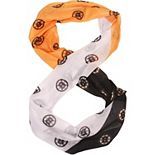 Women's Boston Bruins Mini Print Color Block Infinity Scarf