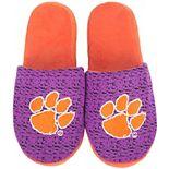 Men's Clemson Tigers Knit Slide Slippers